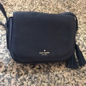Kate Spade Crossbody Satchel Purse Black ♠️